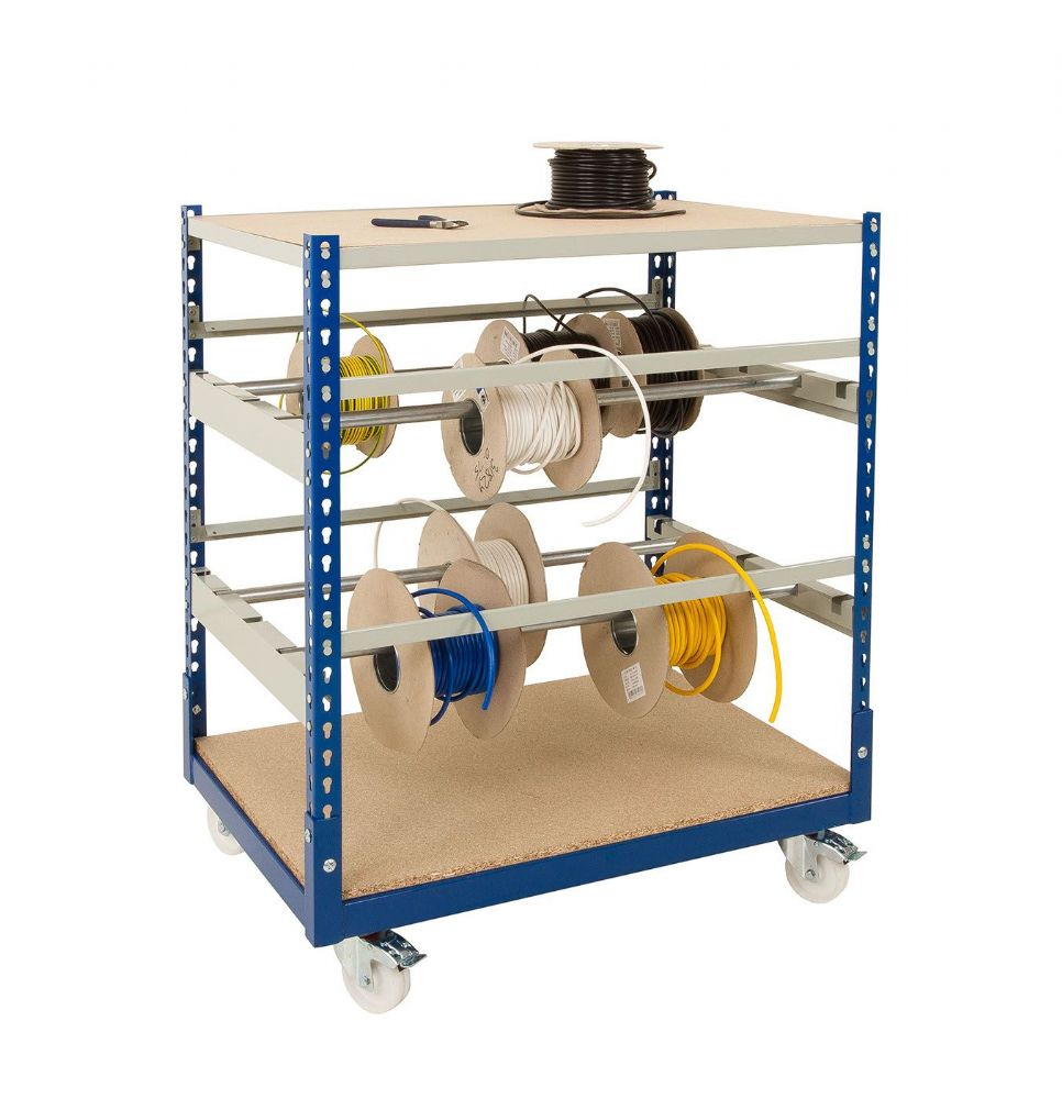 Mobile Cable Reel Storage/ Bench